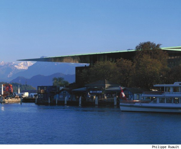 Culture and Convention Center, Lucerne (Switzerland) 1992-2000