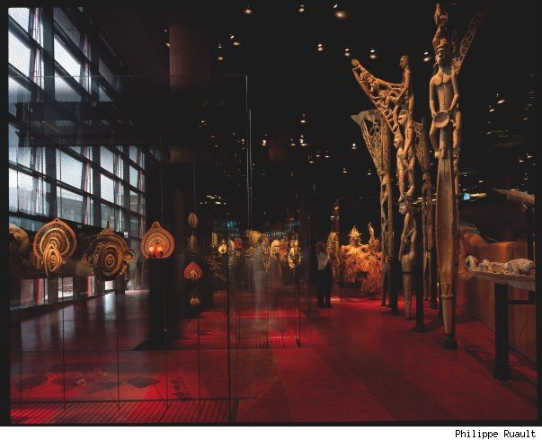 Quai Branly Museum, Paris (France) 1999-2006