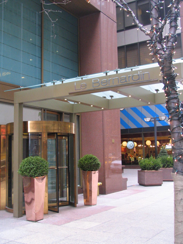 Entrance to Le Bernardin