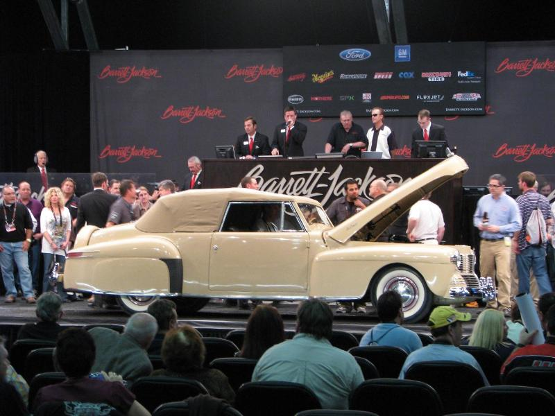 1942 Lincoln Continental Convertible - $44,000