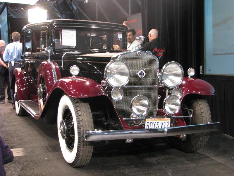 1931 Cadillac 370 A Town Sedan - $79,200.00