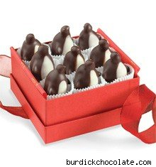Chocolate Penguins by L.A. Burdick