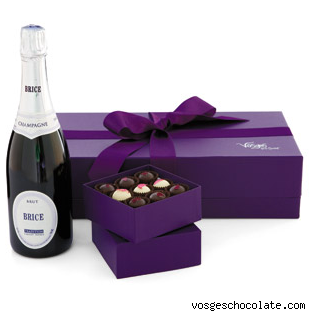 Joseph Perrier Brut Rosé Champagne + Gatsby Collection by Vosges