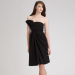 Chloe Strapless Bow Dress