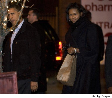 barack and michelle obama on valentine's day