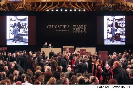 yves st laurent auction