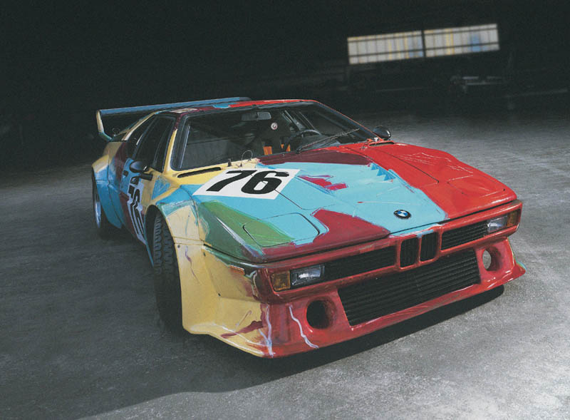 Andy Warhol, Art Car, 1979 - BMW M1 group 4 racing version