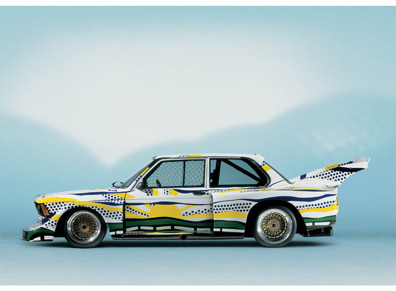 Roy Lichtenstein, Art Car, 1977 - BMW 320i group 5 racing version