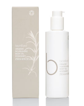 Bamford Organic Nourishing Body Oil in Rosemary
