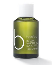 Bamford Botanic Massage Oil in Eucalyptus