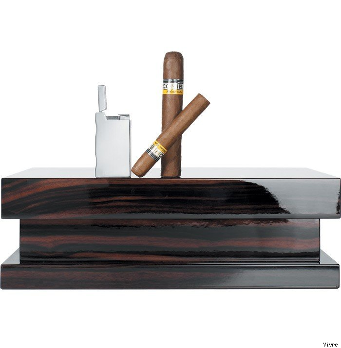 Macassar Ebony Humidor