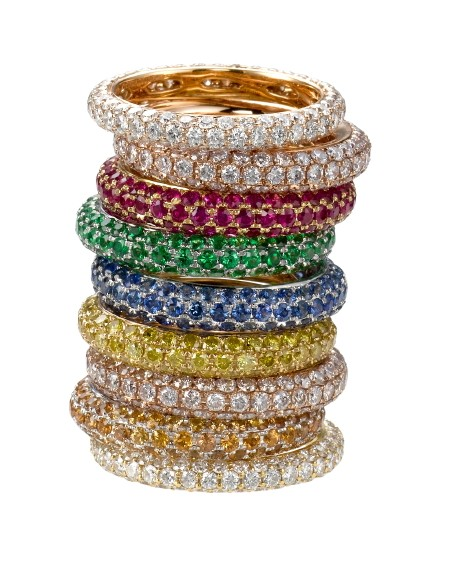 Daniel K stackable rings