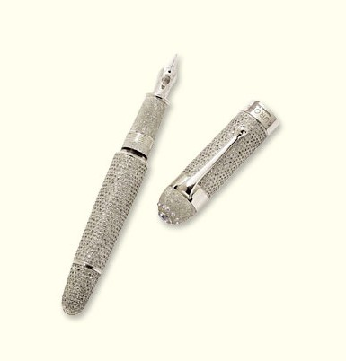 A New World's Most Expensive Pen? - Luxist :  bling plus writing instruments pens