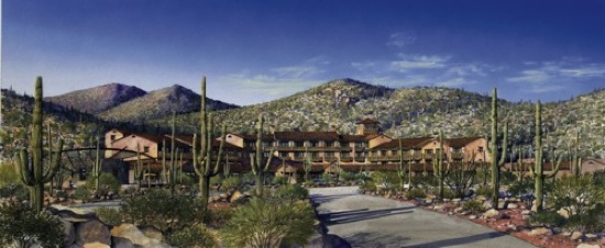 Rendering of Ritz-Carlton, Dove Mountain