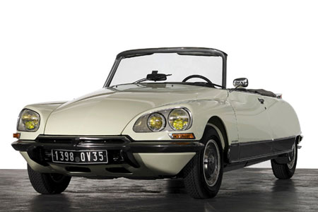 Citroen DS named 
