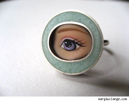Lavender Eye Ring