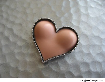 Have a Heart Bust Pin