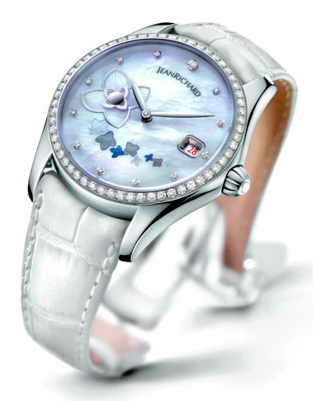 jeanrichard bressel lady small seconds watch