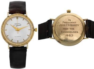 JFK's watch
