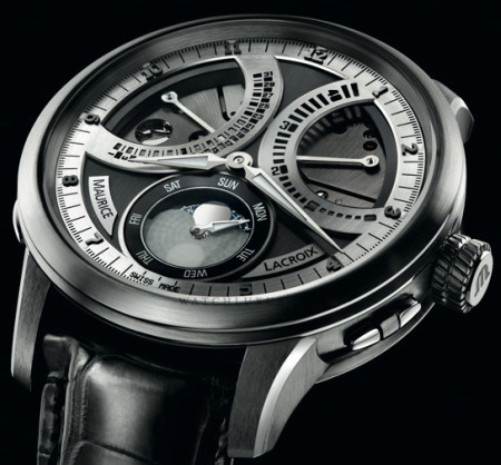 maurice lacroix masterpiece lune retrograde watch