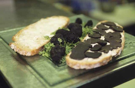 Michel Rostang's $122 Truffle Sandwich
