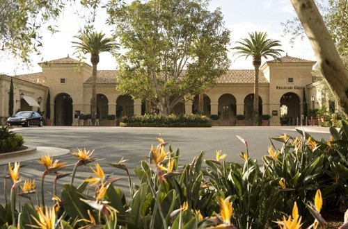 Clubhouse entrance, Pelican Hill