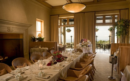 Private dining at Pelican Hill