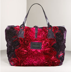 rosier taffeta tote