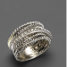 David Yurman Diamond Crossover Ring