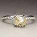 Diamond in the Rough Band Ring