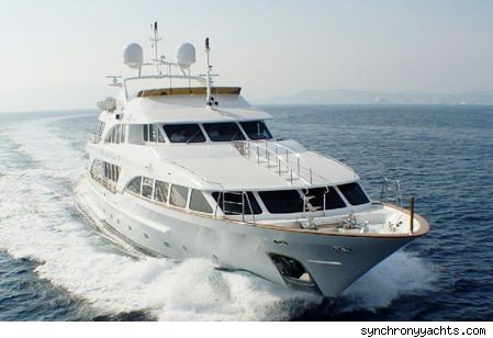 Synchrony's first yacht is a 120-foot Benetti Classic 120 which sleeps 10 in ...