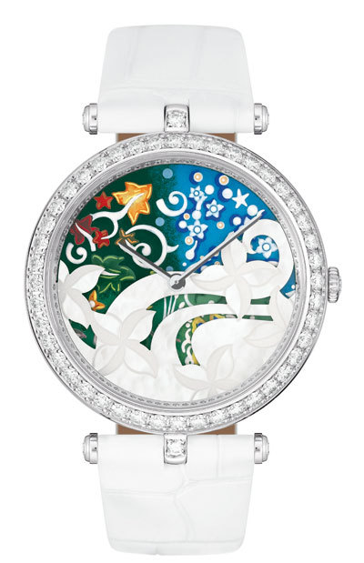 van cleef and arpels jardin watches