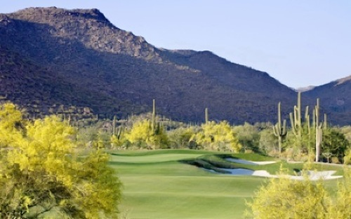 Ritz-Carlton GC, Dove Mountain, Hole 5
