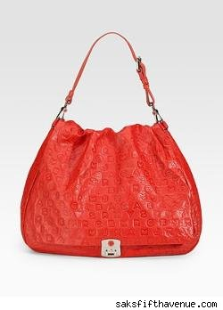 Marc by Marc Jacobs Puckered Mouse Embossed Hobo
