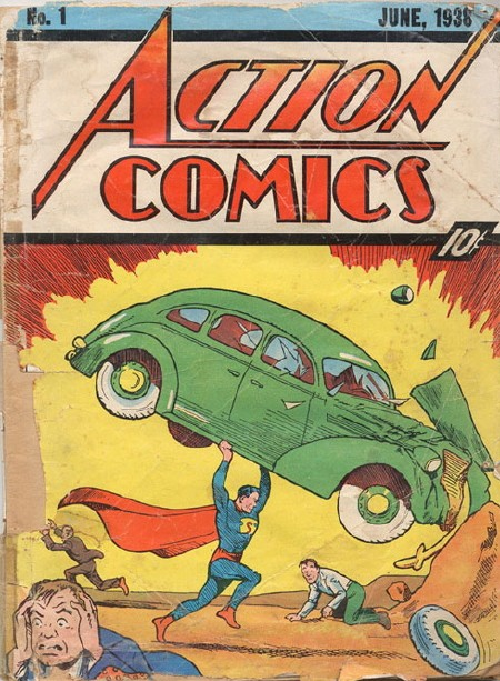 action comics #`
