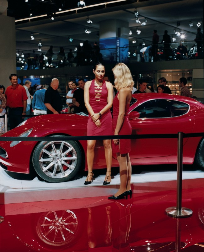 3.	Alfa Romeo girl 2, Frankfurt, 19 September 2003