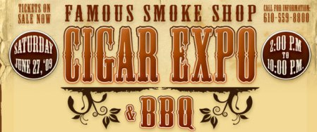 famous smoke shop cigar expo