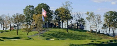 Pete Dye Course and clubhouse