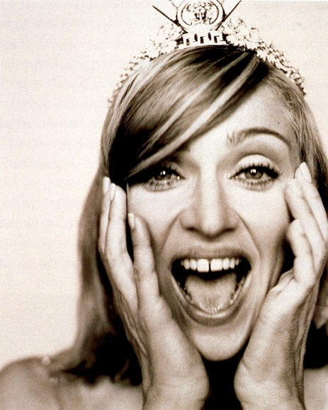 Madonna Wearing the Tiara