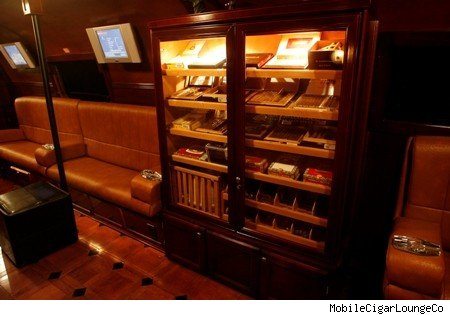Mobile Cigar Lounge humidor