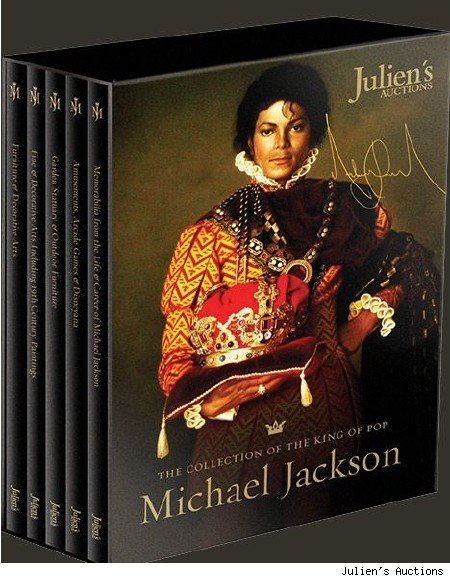 michael jackson auction catalog