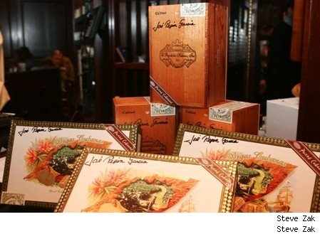 The cigars donated to Cigars for Soldiers by Don Pepin Garcia