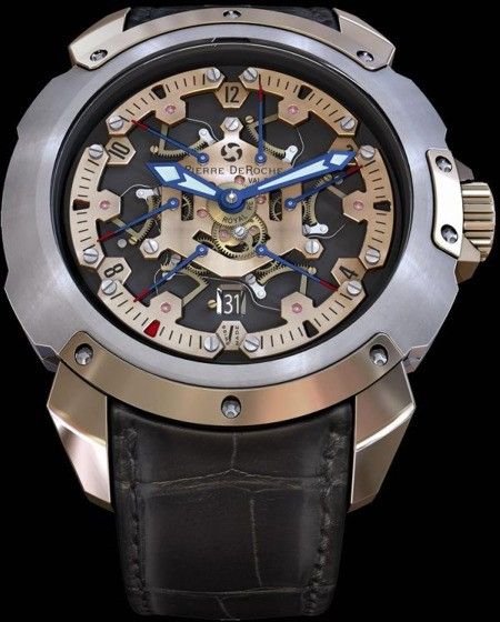 pierre deroche tnt royal retro watch