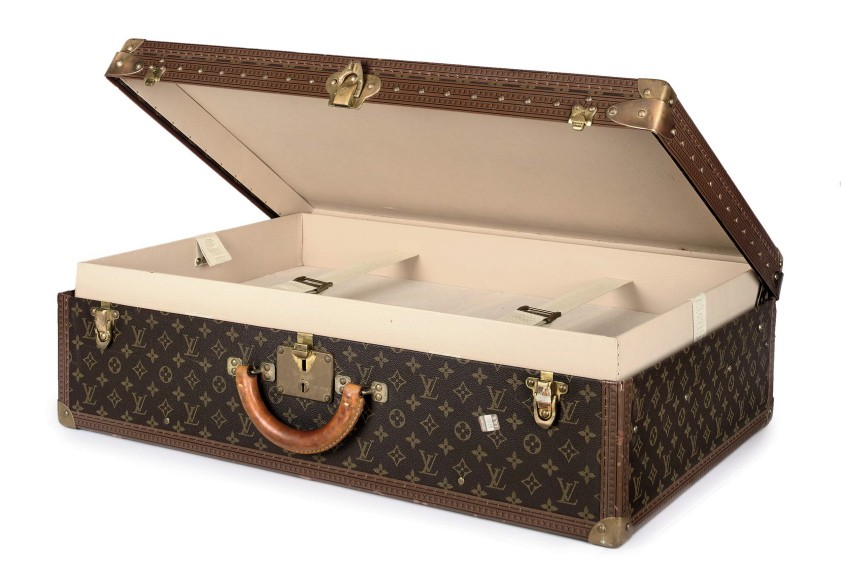 Vuitton monogram hard-side case