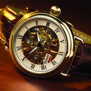 Stauer 1779 Skeleton Watch