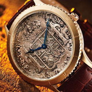 Stauer 1783 Silver Dollar Watch