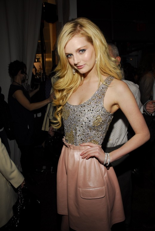 Heiress, socialite and model Lydia Hearst.