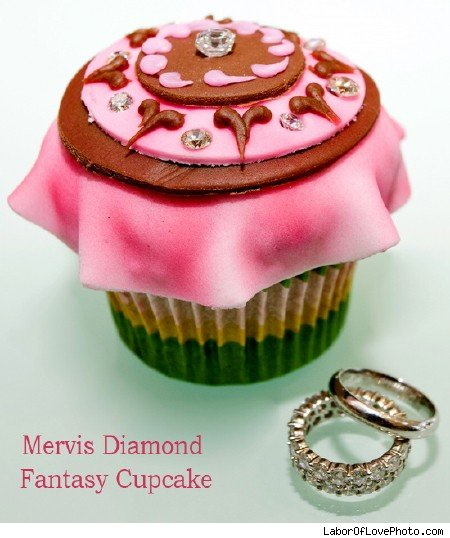 diamond cupcake
