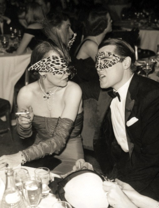 Masquerade ball at the Stork Club, 1941