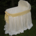 Ella Yellow Bow Bassinet
